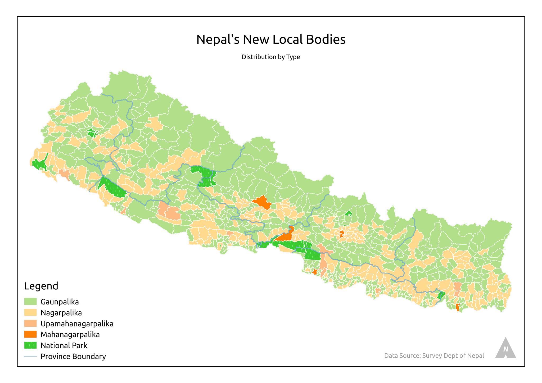 EHRP Nepal Nepal Map